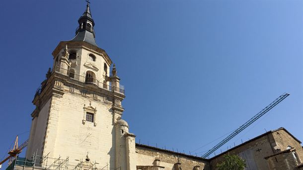 La catedral de Santa María de Vitoria, restaurada con nanotecnología